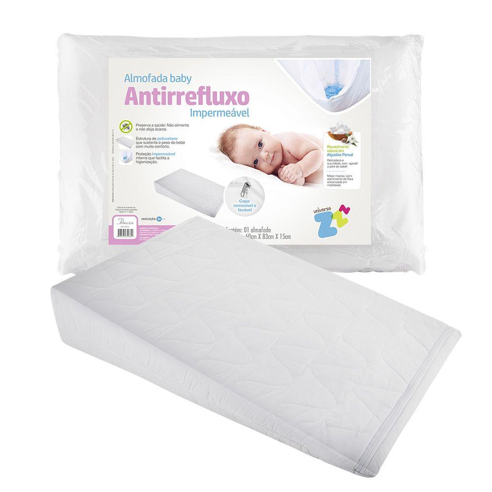 Travesseiro Anti Refluxo Baby Terapêutico Fibrasca