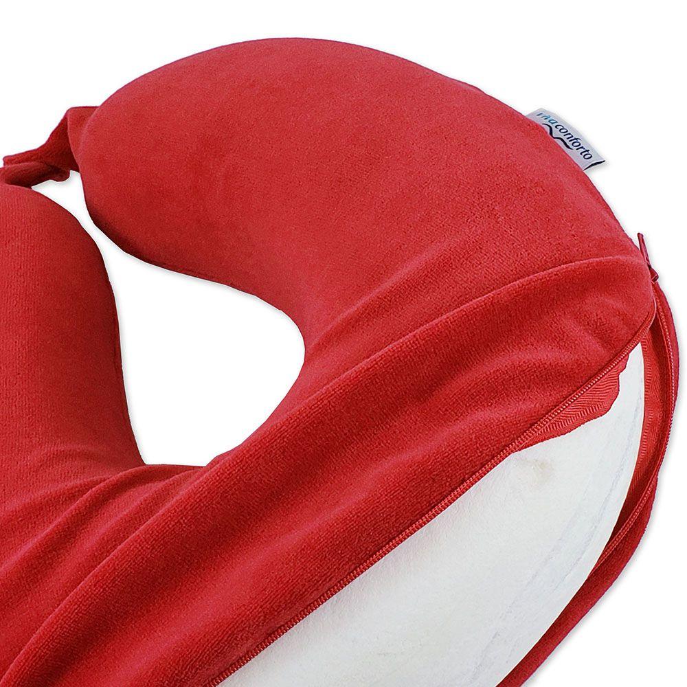 Travesseiro de Viagem Viva Conforto - Vermelho