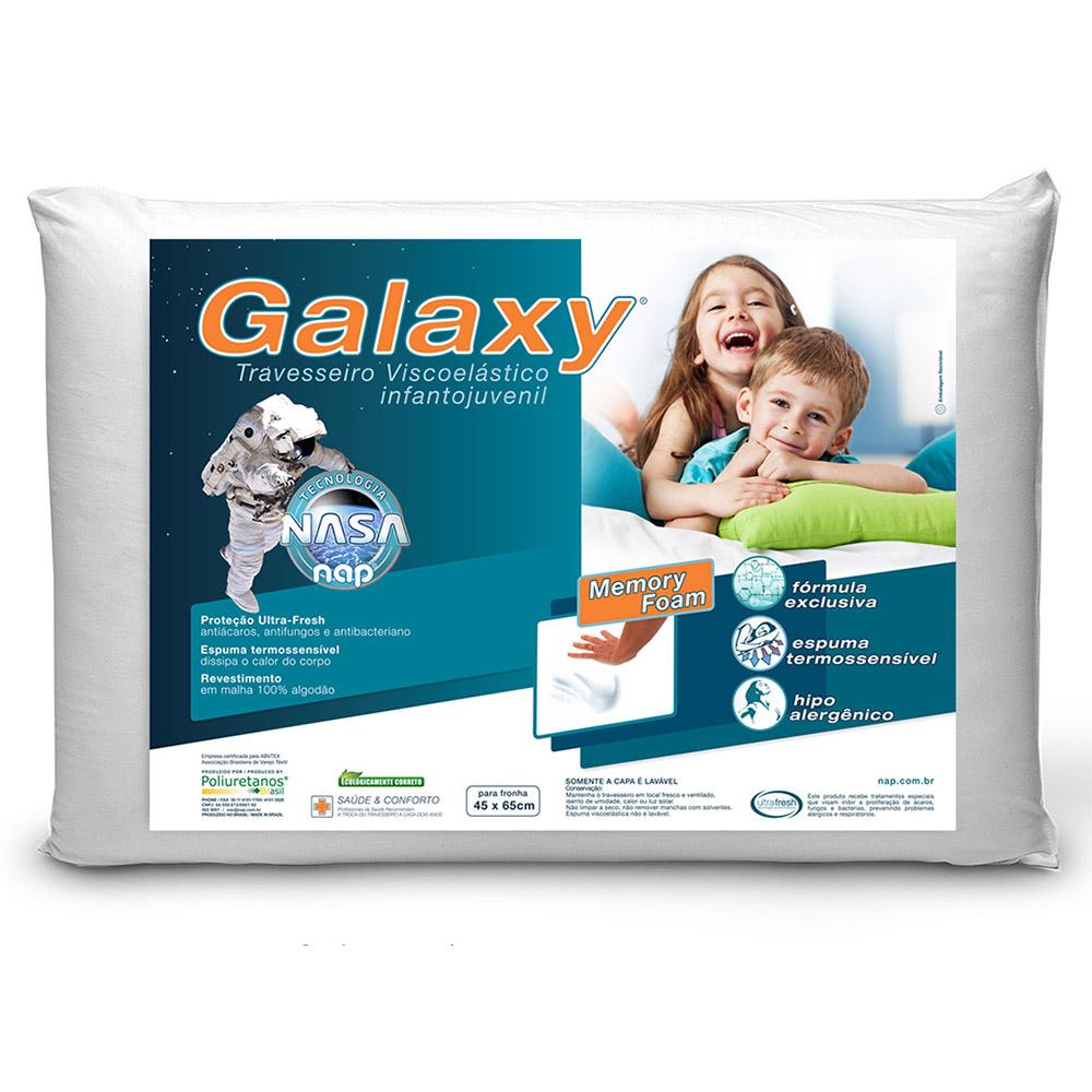 Travesseiro Nap Galaxy Infantojuvenil