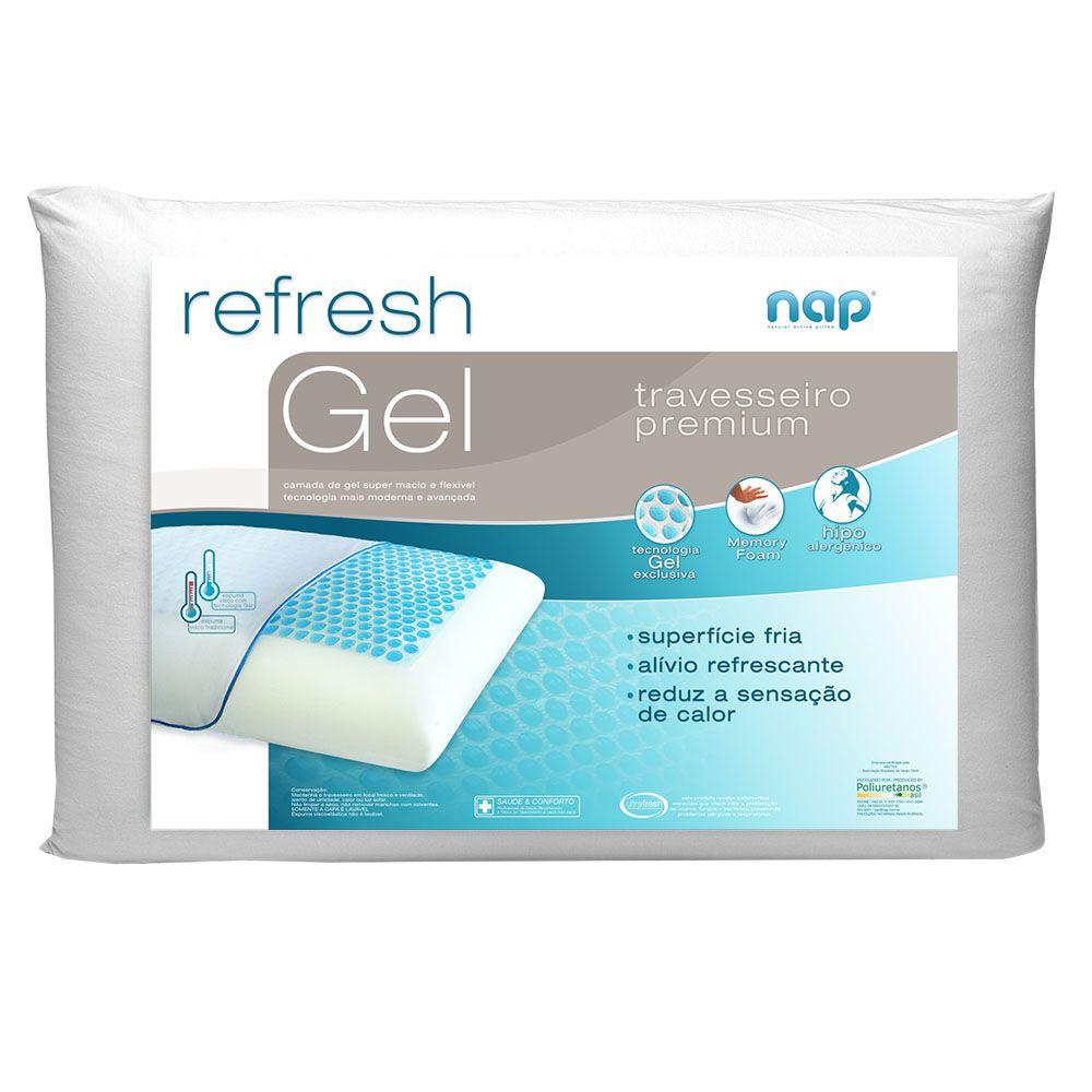 Travesseiro Nasa Nap Refresh Gel