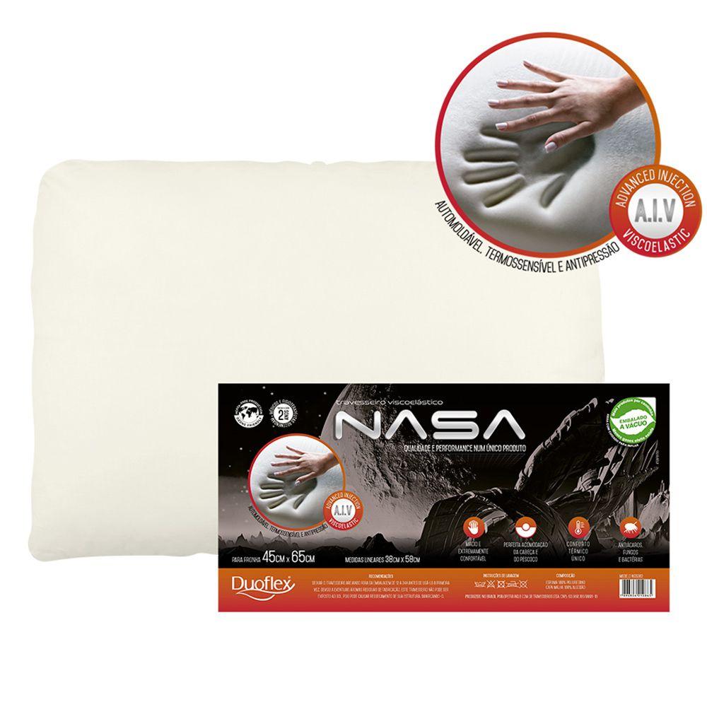 Travesseiro  Viscoelástico Nasa-X  Duoflex
