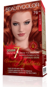 Beauty Color Kit Coloracao 76.44 - Ruivo Absoluto