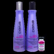 C.Kamura Kit Defrizz Liss Effect  Shampoo  Condicionador - 315ml cada  Superdose Gratis