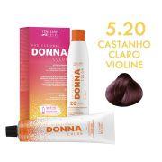 Donna Color Kit Coloração 5.20 Castanho Claro Violine