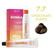 Donna Color Kit Coloração 7.7 Chocolate Claro