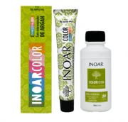 Inoar Kit Color System 7.44 - 2 Colorações  2 Água Oxigenada 20vol - Grátis Leave-in Rejupantenol