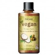 Inoar Shampoo Vegan Óleo de Coco - 300ml