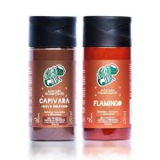 Kit Kamaleão Tonalizante Cor Flamingo 150ml e Cor Capivara 150ml