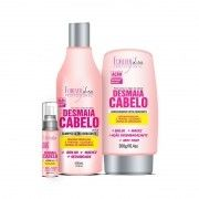 Kit Forever Liss Desmaia Cabelo -