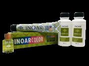 Inoar Kit Color System 7.4 - 2 Coloracoes  2 Ox  Oleo de Argan Gratis