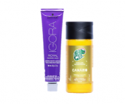 Kit Schwarzkopf Igora Royal Fashion Lights L77 Cobre e Kamaleão Tonalizante Canário