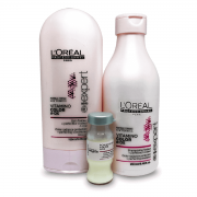 Kit Loreal Vitamino Color A-OX - Shampoo, Condicionador e Ampola Powerdose