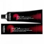 Loreal Inoa Carmilane Coloração sem Amônia 6.66 Louro Escuro Vermelho 60g
