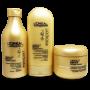 Kit Loreal Absolut Repair Cortex Lipidium - Shampoo, Condicionador e Máscara
