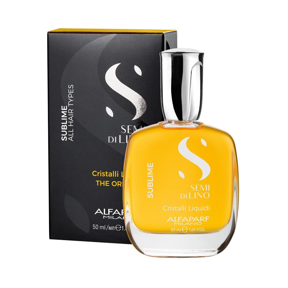 Alfaparf Cristalli Liquidi Óleo Semi Di Lino Sublime - 50ML