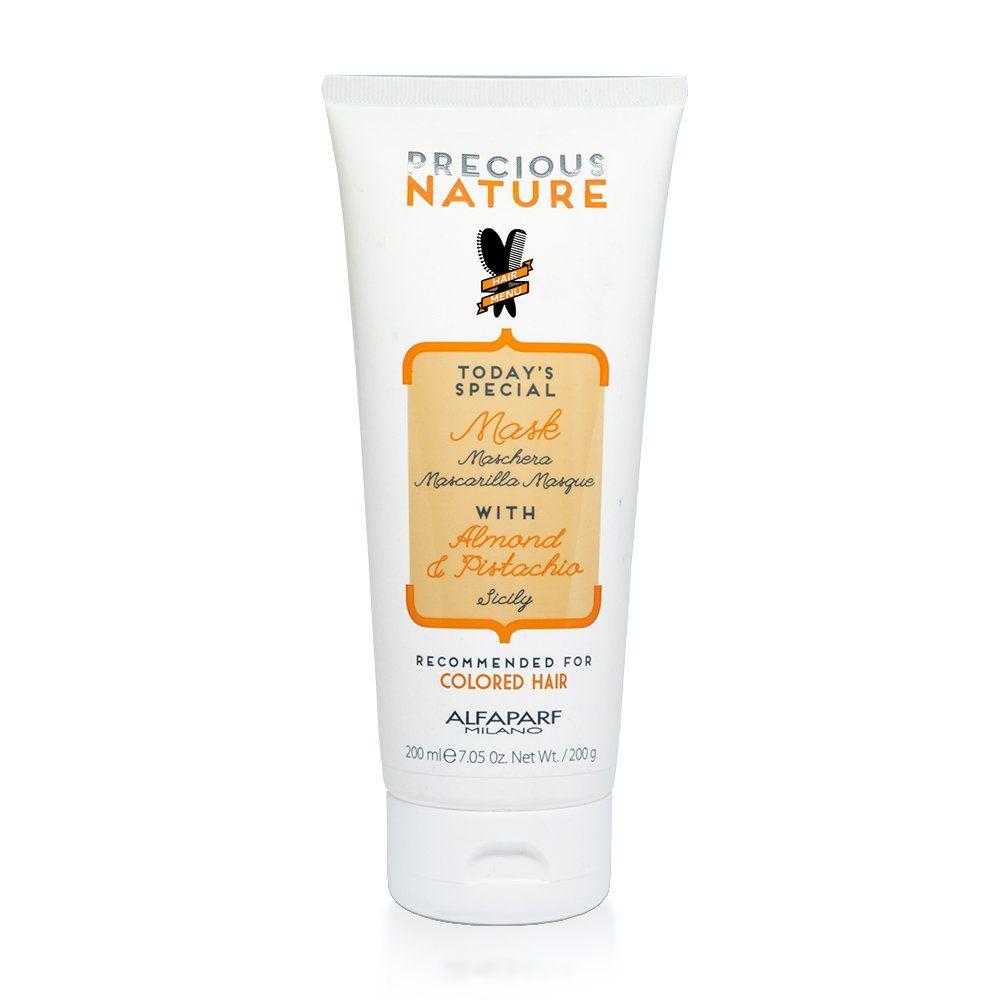 Alfaparf Mascara de Tratamento Precious Nature Almond  Pistachio - 200ml