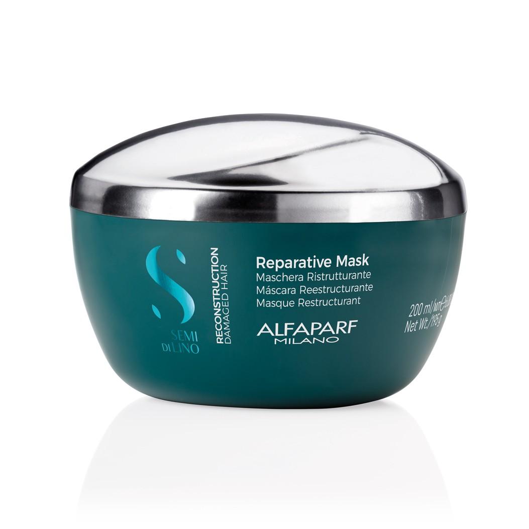 Alfaparf Máscara Semi Di Lino Reconstrução -  200ml