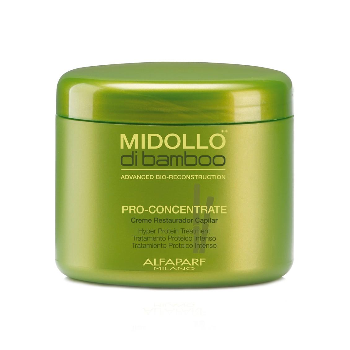 Alfaparf Midollo di Bambu Pro Concentrante Máscara Reconstrutora - 480gr