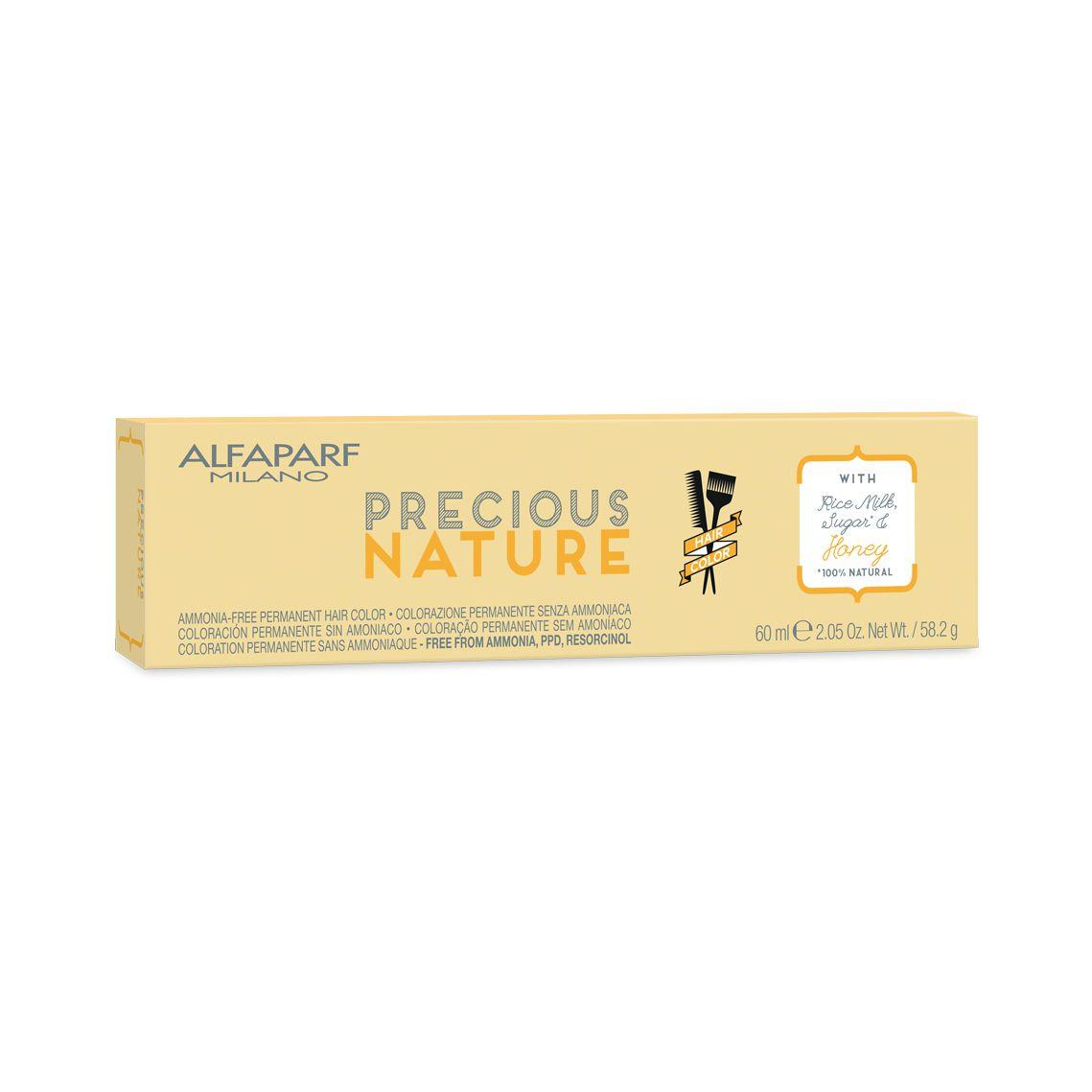 Alfaparf Milano-Precious Nature Hair Color Creme de Coloração 7.3 Louro Médio Dourado 60ml