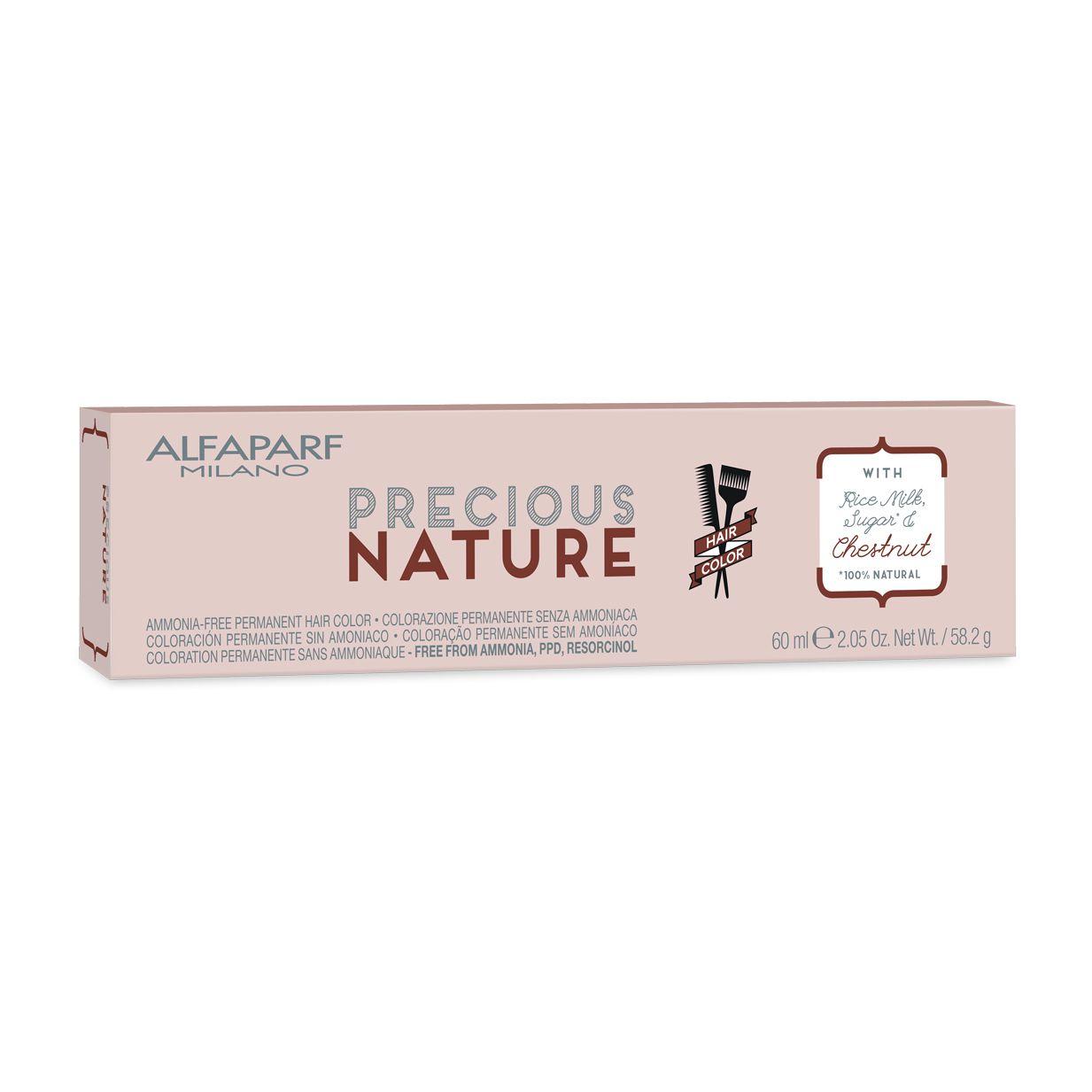 Alfaparf Milano Precious Nature Hair Color Natural Creme de Coloração 7 Louro Médio 60ml