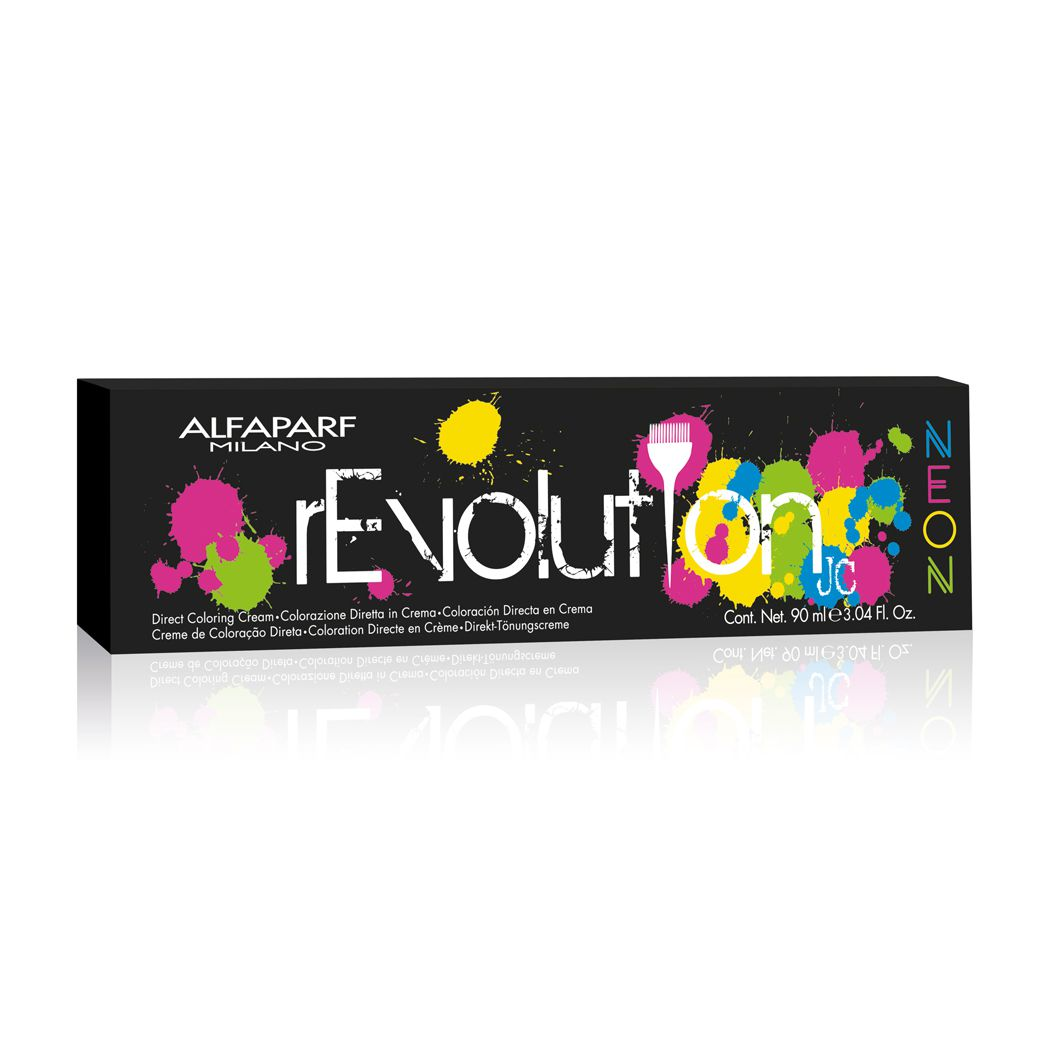 Alfaparf Milano Revolution Neon Color Atomic Yellow - 90ml