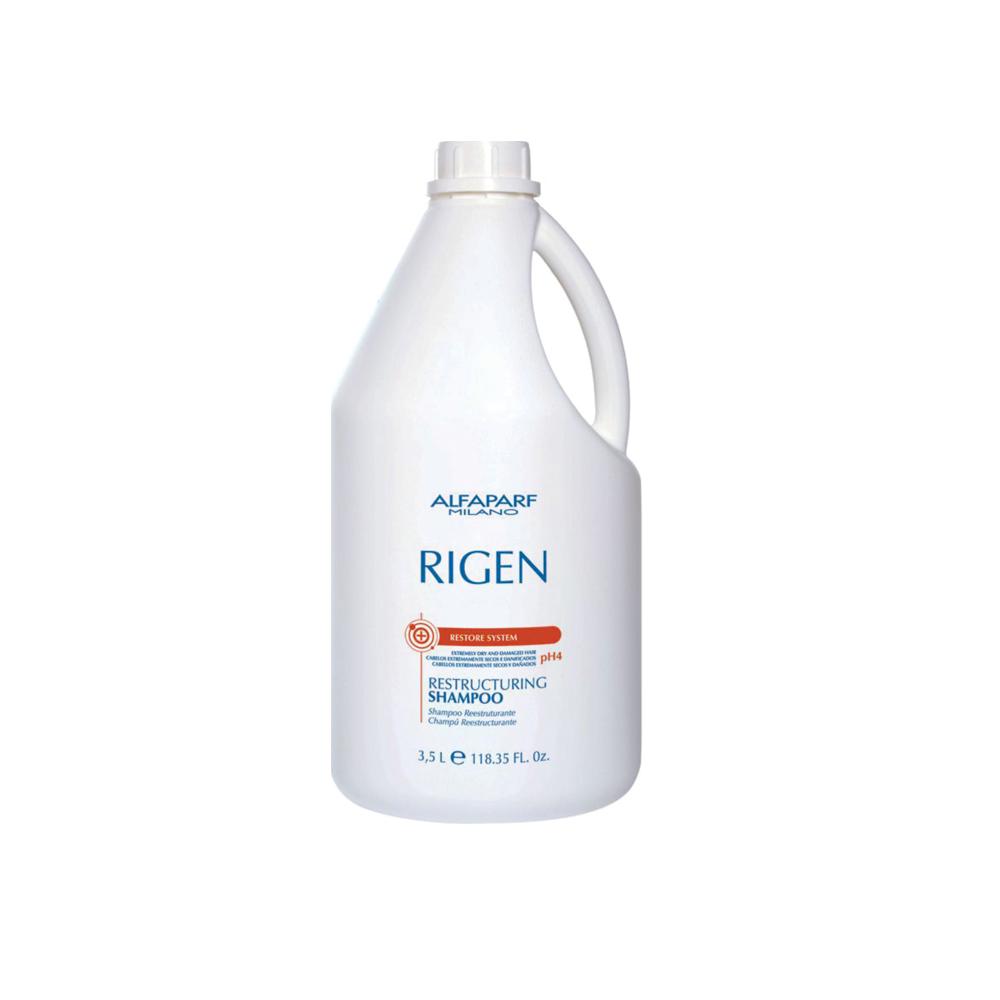 Alfaparf Milano - Shampoo Reestruturante Rigen - Restore System 3500 ml