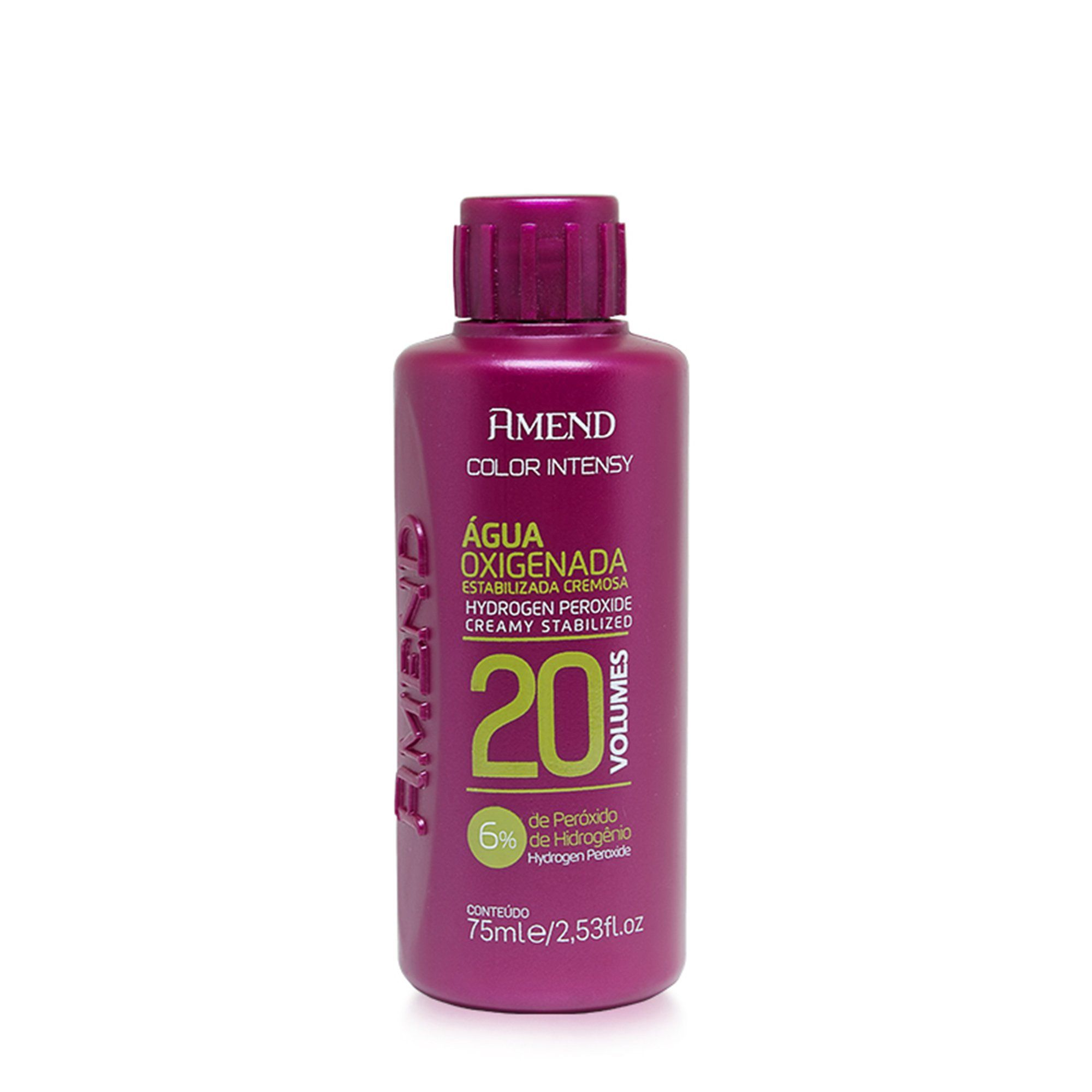 Amend Agua Oxigenada Estabilizada 20Vol - 75ml