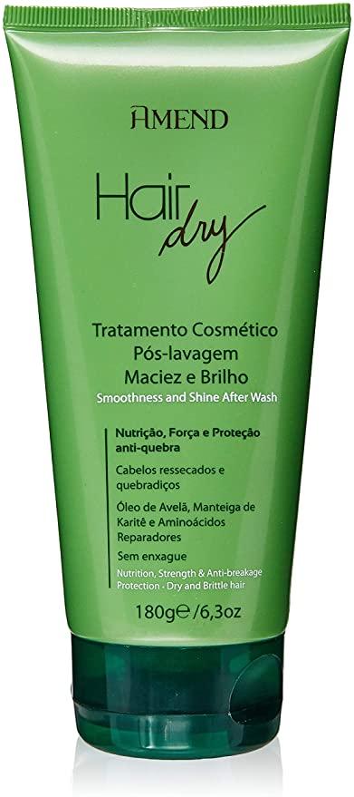 Amend Creme Cosmético Pós-Lavagem Maciez e Brilho Hair Dry 180g