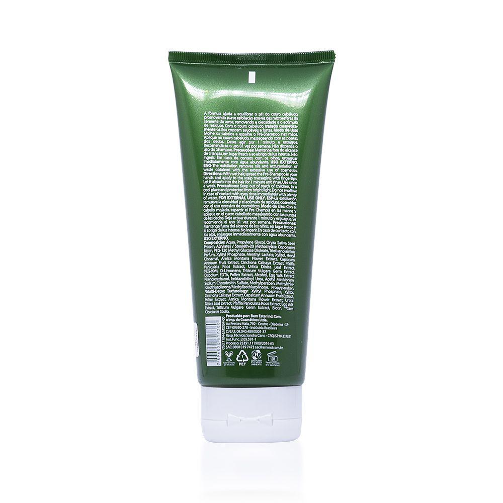 Amend Força e Detox - Pré Shampoo Esfoliante 200g