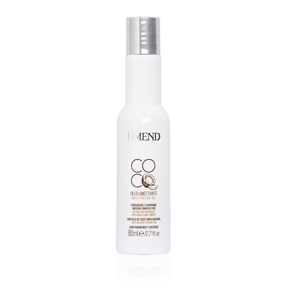 Amend Óleo Umectante Coco - 80ml