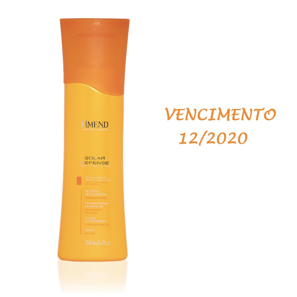 Amend Shampoo Anti Danos Solar Defense - 250ml