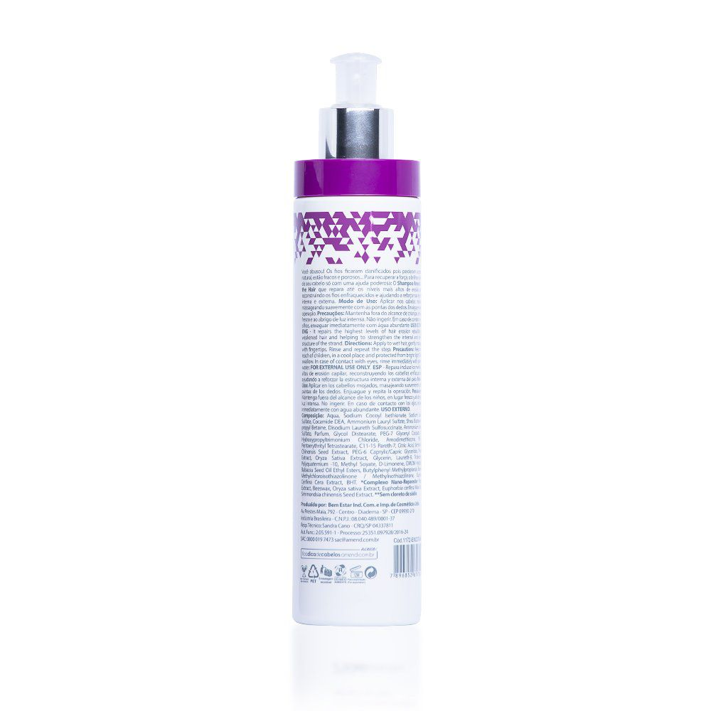 Amend Shampoo Ficaadica Save The Hair - 250ml