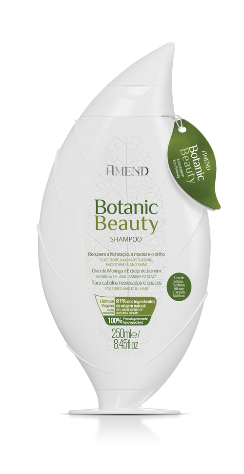 Amend Shampoo Hidratante Botanic Beauty - 250ml