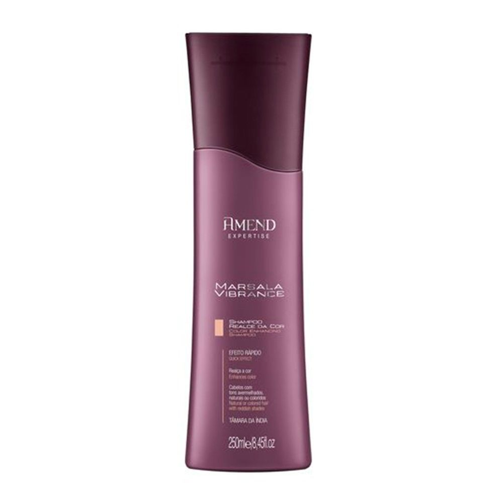 Amend Shampoo Marsala - 250ml