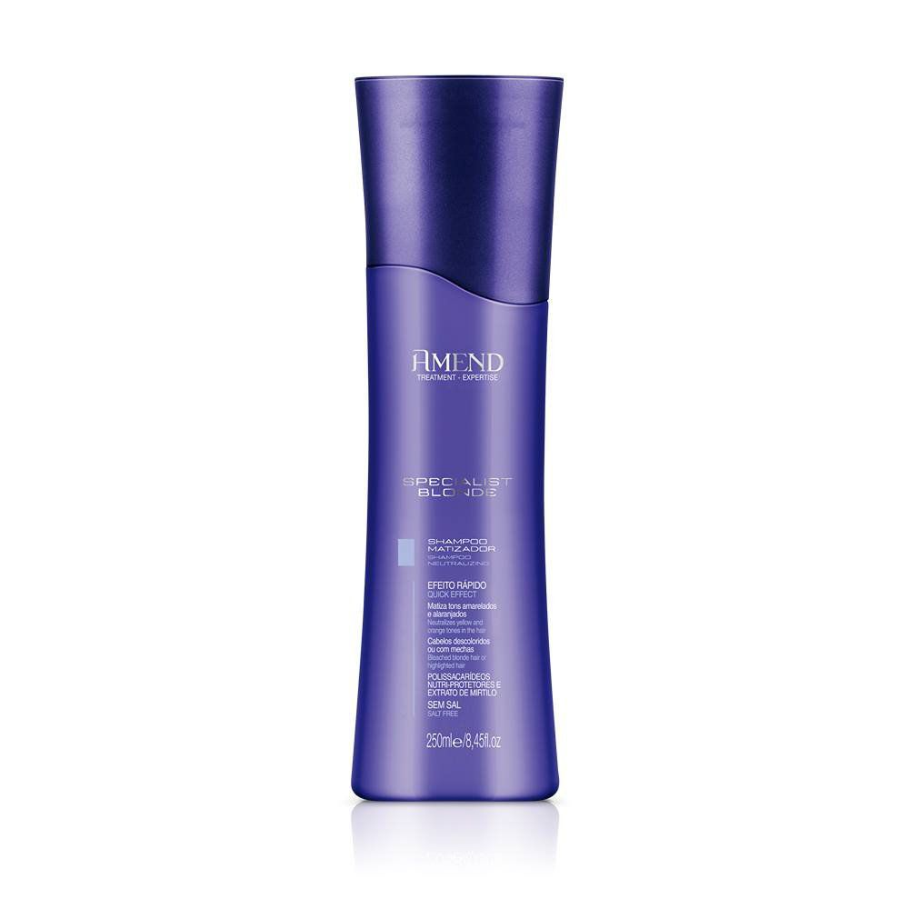 Amend Shampoo Matizador Specialist Blonde - 250ml