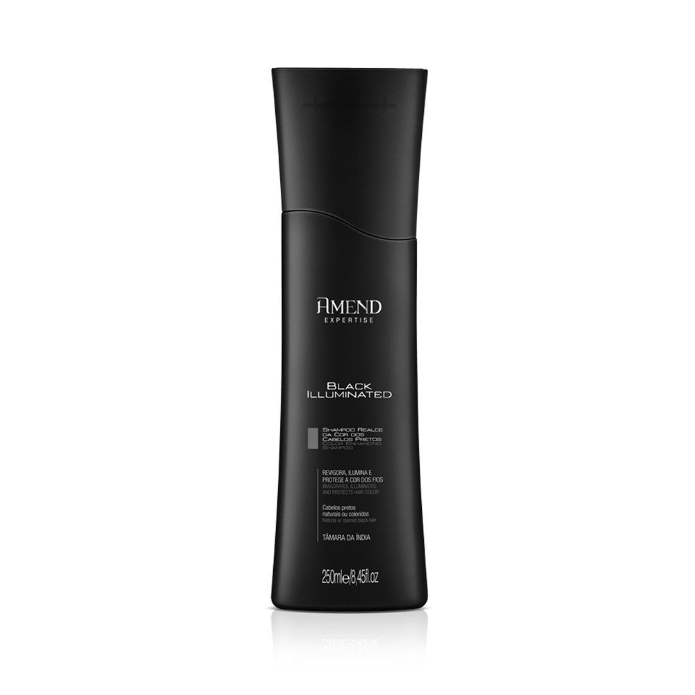 Amend Shampoo Realce da Cor Black Illuminated - 250ml