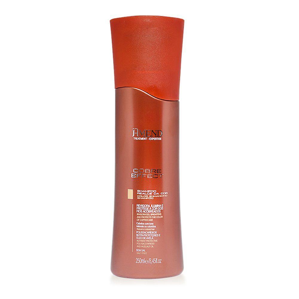 Amend Shampoo Realce da Cor Cobre Effect - 250ml