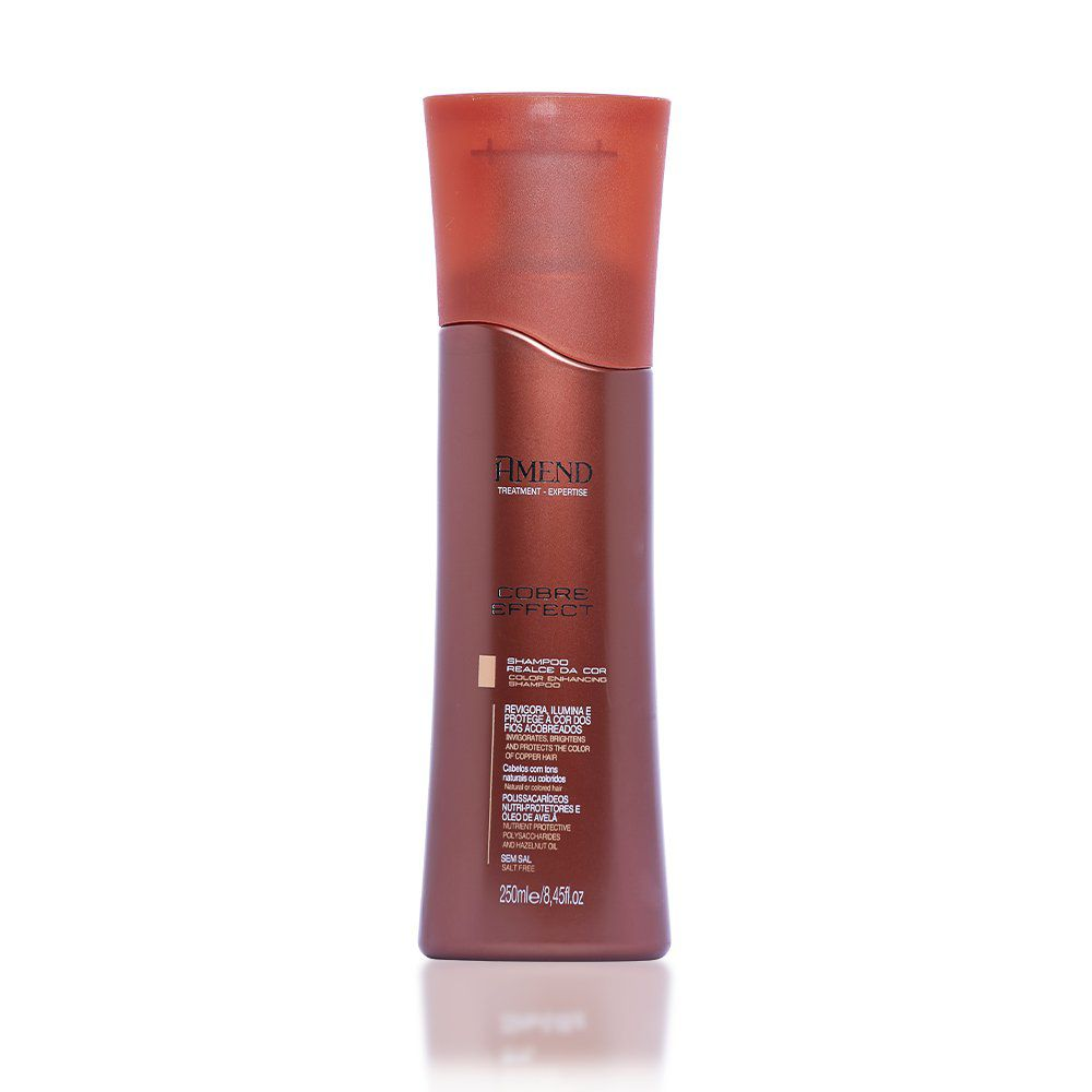 Amend Shampoo Realce da Cor Cobre Effect - 250ml