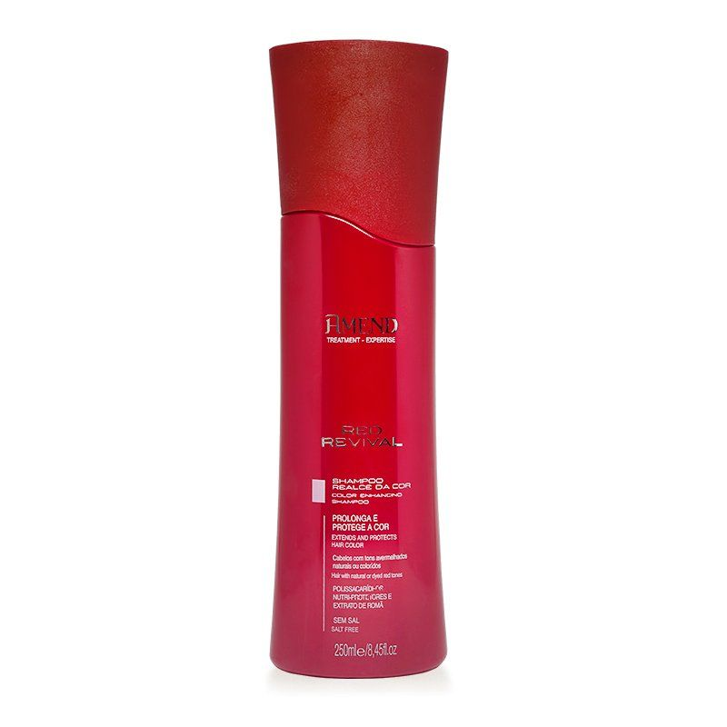 Amend Shampoo Realce da Cor Red Revival - 250ml
