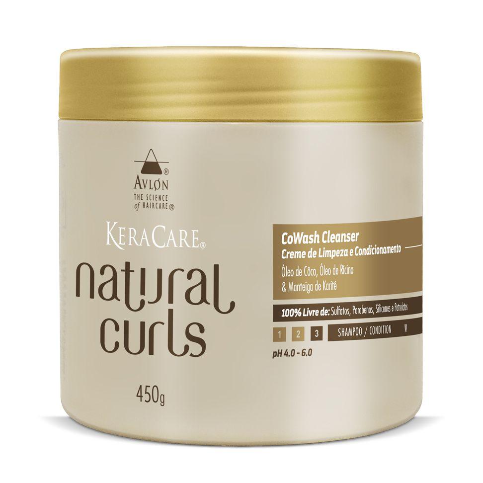 Avlon KeraCare Natural Curls CoWash Cleanser Creme de Limpeza e Condicionamento 450g