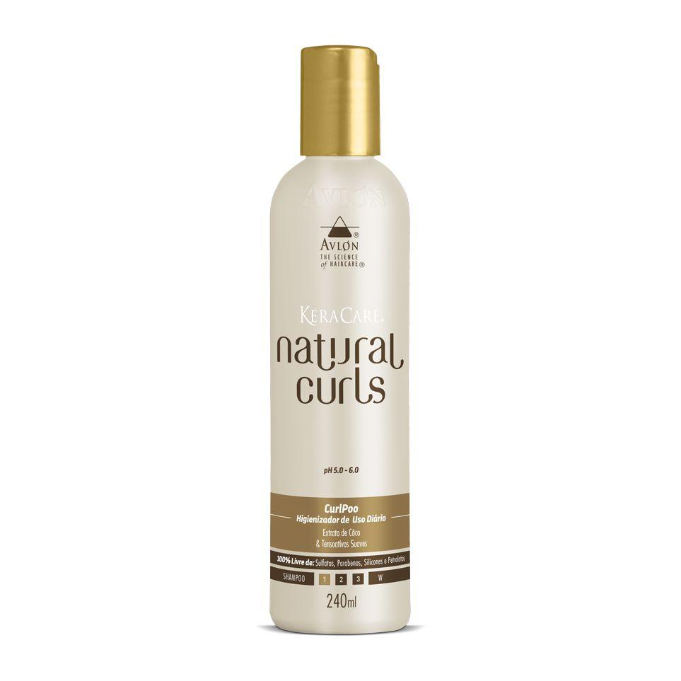 Avlon  KeraCare Natural Curls Curl Poo Higienizador de Uso Diário 240ml