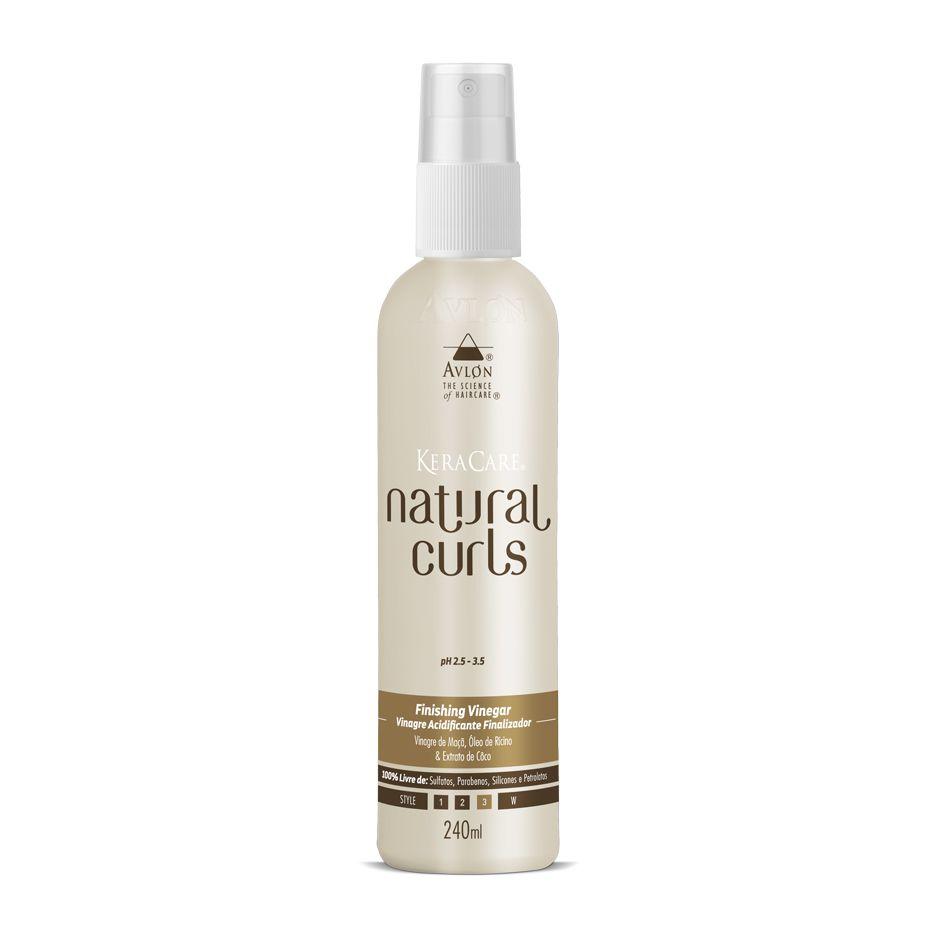 Avlon KeraCare Natural Curls Finishing Vinegar Vinagre Acidificante Finalizador 240ml