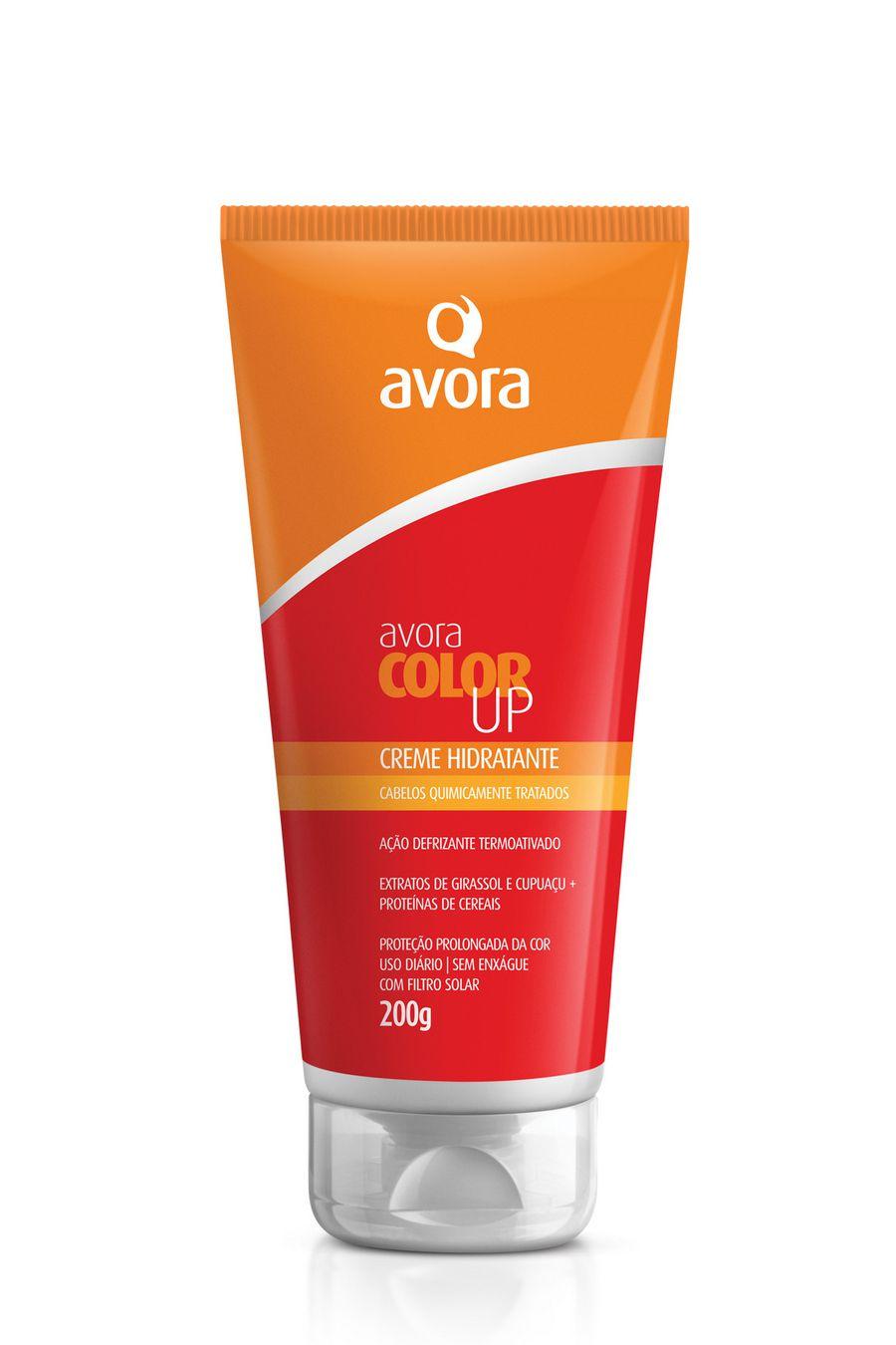Avora Color Up Creme Hidratante Cabelos Quimicamente Tratados 200g