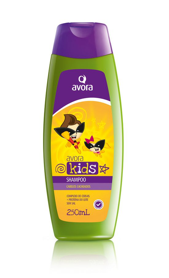 Avora Kids Cacheados Shampoo 250ml