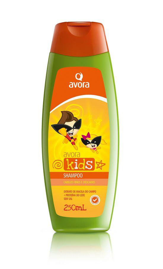 Avora Kids Finos e Delicados Shampoo 250ml