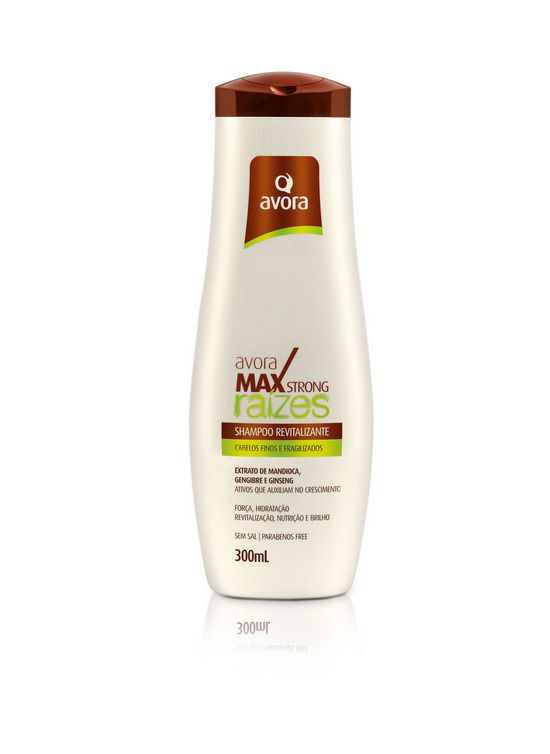 Avora Max Strong Raízes Shampoo 300ml