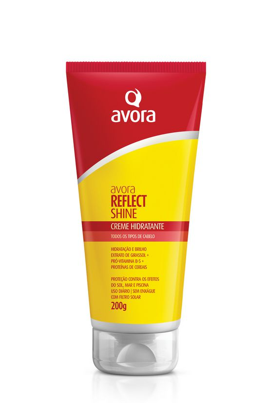 Avora Reflect Shine Leave-in Creme Condicionante Hidratante Sem Enxágue - 200g