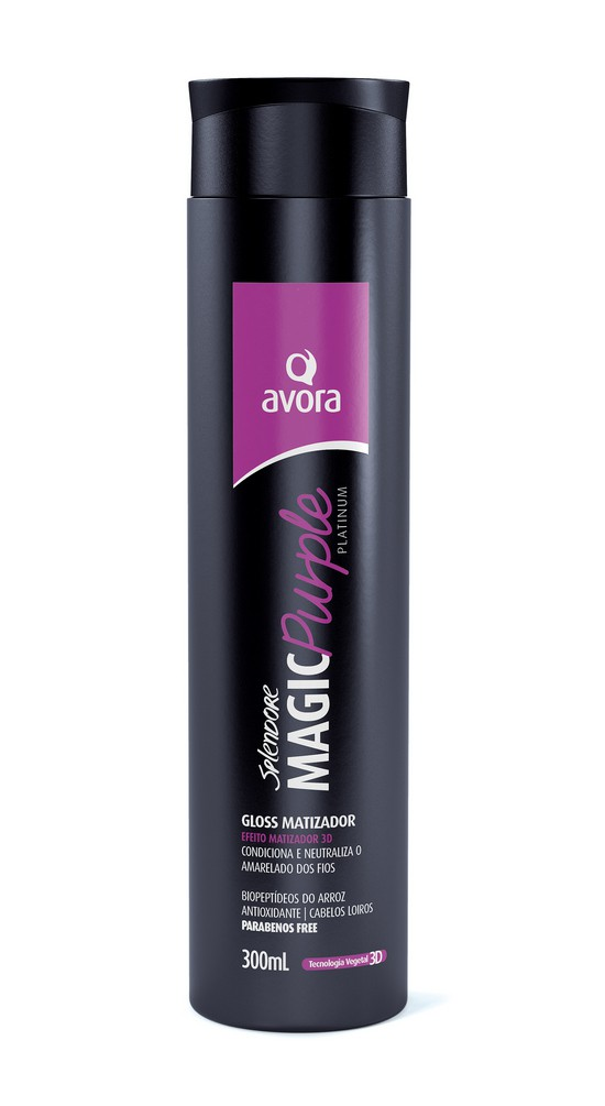 Avora Splendore Magic Purple Gloss Matizador 300ml