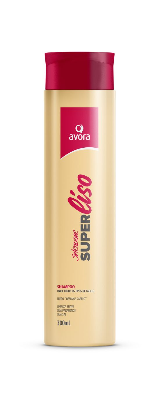 Avora Splendore Super Liso Shampoo 300ml