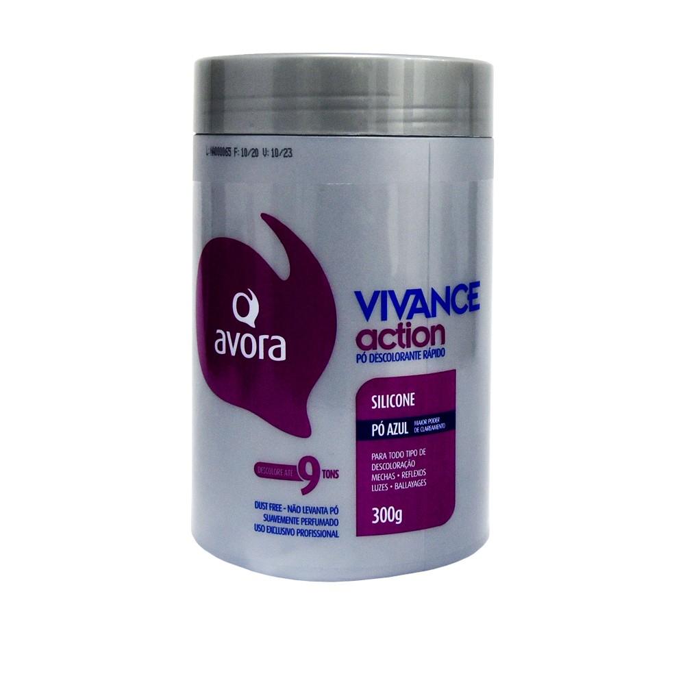 Avora Vivance Action Pó Descolorante Silicone Dust Free 300g
